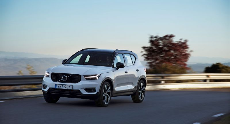 Design, Exterior, Images, 2017, 2018, New XC40, 2018 New XC40