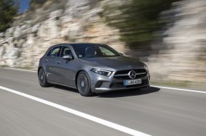 Mercedes-Benz Cars, Mercedes-Benz receives award from Euro NCAP: The A-Class is awar, as of 2018, Daimler Global MediaSite, 12 - 2018, Exterior, MediaSite, 04 - 2018, New Mercedes-Benz A-Class: Environmental Certificate for the A-C, Brands & Products, Press Kits sorted by years, The Mercedes-Benz A-Class: The benchmark in the compact class, 08 - 2018, Press Releases sorted by years, 2018, Mercedes-Benz Passenger Cars, A-Class